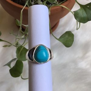 Boho/Western Turquoise Ring